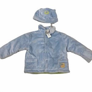Absorba 18 Month Coat & Hat Matching Set NEW